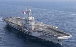 Pháp cách ly gần 1.900 quân nhân trên tàu sân bay Charles De Gaulle