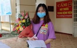 Cô gái nhiễm Covid-19 đầu tiên tại Hà Tĩnh xuất viện, hứa sẽ trở lại xin được làm tình nguyện viên