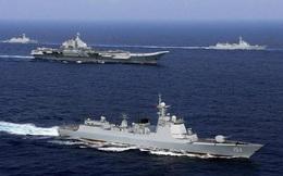 Trung Quốc điều tàu sân bay tới Biển Đông tập trận