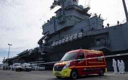 Gần 700 quân nhân trên tàu sân bay Pháp mắc Covid-19