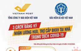 Hà Nội bắt đầu chi trả lương hưu, trợ cấp tại nhà cho hơn 440.000 người