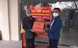 Người cán bộ tiền khởi nghĩa 98 tuổi tại Thanh Trì ủng hộ phòng chống dịch Covid-19