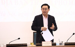 """Bí thư Thành ủy Vương Đình Huệ: """"Các kiến nghị cứ gửi cho Văn phòng Thành ủy, tôi sẽ đọc trực tiếp, các đồng chí yên tâm"""""""