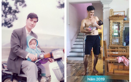 """2 bức ảnh với khoảng cách 25 năm khiến tất cả trầm trồ: Nhan sắc của người đàn ông đã bị """"thời gian bỏ quên""""?"""