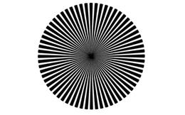 Thấy màu gì trong tâm điểm của hình dưới đây? Câu trả lời sẽ cho biết ai là thiên tài