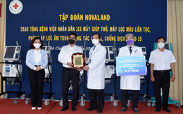 Novaland trao thiết bị y tế trị giá 10 tỷ đồng cho Bệnh viện 115