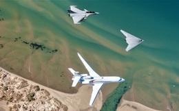 """Lộ diện """"kỳ phùng địch thủ"""" của X-47B - UCAV nEUROn"""