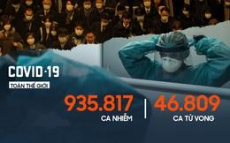Mỹ vượt mốc 5.000 ca tử vong, Tây Ban Nha tăng hơn 8.000 ca/ngày
