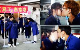Giữa mùa dịch Covid-19, nhà máy Trung Quốc tổ chức cuộc thi hôn môi tập thể vì lý do khó chấp nhận