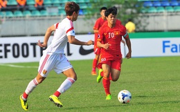 """U19 Trung Quốc """"chết hụt"""" dưới tay Công Phượng, Văn Toàn sau phát ngôn xem nhẹ Việt Nam"""