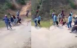 Xác minh clip 20 nữ sinh cầm gậy gộc lao vào đánh nhau trên đường