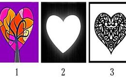 Chọn 1 hình trái tim để trả lời câu hỏi: Bạn là người hoài nghi, sợ sệt hay cá tính?