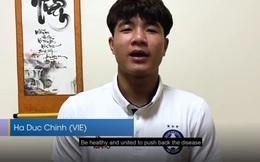 Hà Đức Chinh: 'Quyết thắng đại dịch COVID-19 bằng tinh thần Việt Nam'