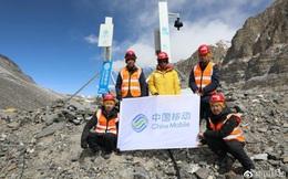 Nhờ Trung Quốc, đỉnh núi cao nhất thế giới giờ cũng đã có sóng 5G