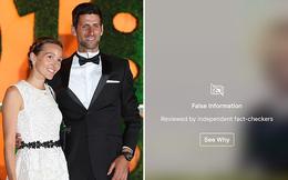 Vợ chồng Novak Djokovic: người chống vắc-xin, người share tin giả về virus corona