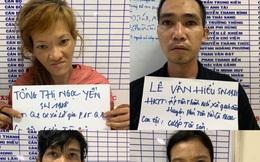 Bắt cặp đôi dùng dao kề cổ tài xế xe ôm công nghệ, cướp tài sản ở Sài Gòn