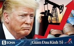 Tổng thống Trump lại vừa cứu giá dầu ngoạn mục chỉ với một dòng tweet đe dọa Iran