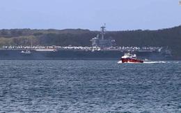 """""""Cơn ác mộng"""" COVID-19 tàn phá 26 chiến hạm Mỹ"""
