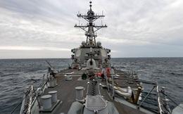 Mỹ lần thứ 2 trong tháng điều tàu chiến đi qua Eo biển Đài Loan