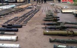 Chiến sự Syria: Bí mật trong kho vũ khổng lồ của phiến quân mới được phát hiện tại Damascus và Al-Quneitra