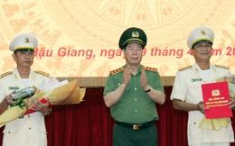 Bộ Công an bổ nhiệm Thượng tá Huỳnh Việt Hoà làm Giám đốc Công an tỉnh Hậu Giang