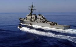 Tàu chiến Mỹ thực hiện hoạt động tự do hàng hải ở Biển Đông