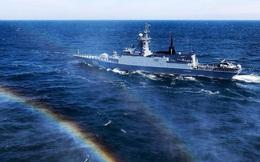 Hai tàu khu trục đa năng của Nga xóa sổ tàu ngầm của kẻ thù giả định