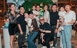 """Hà Tăng góp mặt trong tiệc thôi nôi của con trai Trà My Idol, nhan sắc """"choán"""" hết cả spotlight nhân vật chính"""