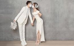 Nhà thiết kế Cường Bely tái xuất với vai trò người mẫu trong bộ ảnh cưới ấn tượng