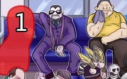 Kiểm tra tâm lý: Trên tàu điện chỉ còn vài chỗ trống, bạn sẽ ngồi vào vị trí nào, câu trả lời sẽ tiết lộ bí mật về bạn