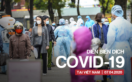 [CẬP NHẬT dịch COVID-19 ngày 7/4] Buổi sáng thứ 3 không ghi nhận ca mắc mới; Phi công người Anh diễn tiến nặng, 2 bệnh viện phối hợp điều trị