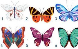 Con bướm bạn chọn sẽ cho thấy ưu điểm: Nếu là số 4, bạn là người hào phóng