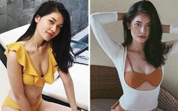 Á hậu nổi tiếng ngoan hiền chăm khoe ảnh bikini sau khi công khai bạn trai doanh nhân