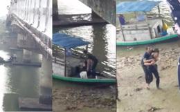 Nam sinh viên người Lào lao mình xuống sông cứu người đàn ông bị rơi từ cầu cao xuống sông