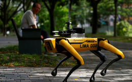 Singapore dùng chó robot để đảm bảo người dân tuân thủ việc cách ly xã hội