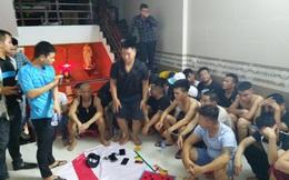 42 con bạc sát phạt nhau trong căn nhà 2 tầng nhiều người canh gác