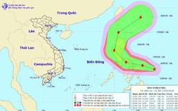 Biển Đông xuất hiện cơn bão giật cấp 11