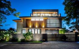 Ấn tượng thiết kế của ngôi nhà làm bằng gỗ và bê tông