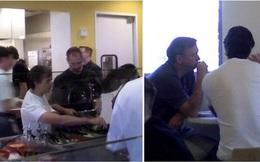 Lộ ảnh hiếm: Steve Jobs từng đi ăn trưa với CEO Google