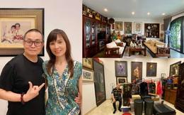 Cận cảnh căn nhà khang trang của vợ chồng danh hài Xuân Hinh