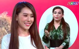 Phi Nhung nhắc nhở hoa hậu Hoàng Kim về cách ăn mặc ngay trên sóng truyền hình