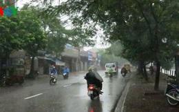 Thời tiết cuối tuần nhiều nơi có mưa to