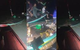 Giông tố đánh chìm hàng loạt thuyền đang câu mực trên biển