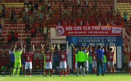 Đội bóng đầu tiên ở Việt Nam thông báo mở cửa đón khán giả đến sân