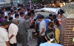 Thi thể công nhân tử nạn được để trong cốp xe con, chở từ Đà Nẵng ra Huế trả cho gia đình