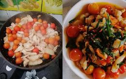 """Cận cảnh món thịt sốt cà chua lạ lùng, thành quả đẹp mắt nhưng cách chế biến khiến người ta muốn """"bỏ đũa"""""""