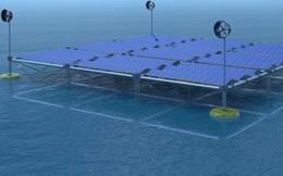 Thiết bị tái tạo điện năng '3 trong 1': Tận dụng cả sóng, gió và mặt trời