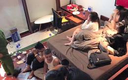 """Bắt giam trùm cá độ Quang 'Camel' vì tổ chức """"tiệc"""" ma túy"""