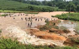 Phú Thọ vỡ đập thủy lợi, khẩn cấp di dời các hộ dân
