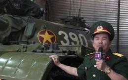 """Bất ngờ về hiện tại của pháo thủ xe tăng 390 húc cổng Dinh Độc Lập có hỗn danh """"Pháo To"""""""